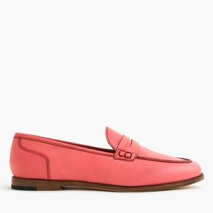 J. Crew Ryan Penny Loafer in Salmon Pink